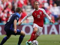 """""""يويفا"""" يمنح """"إريكسن"""" جائزة رجل مباراة الدنمارك وفنلندا"""