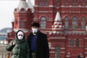 14723 إصابة جديدة بكورونا و357 وفاة في روسيا