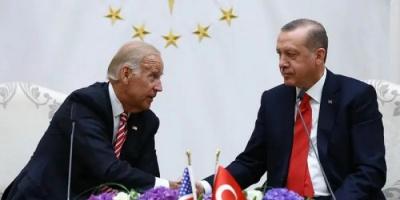 على هامش قمة الناتو.. بايدن يبحث مع أردوغان الملف السوري والليبي