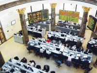 مؤشرات بورصة مصر تتراجع في تعاملاتها الصباحية