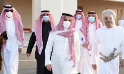 بن فرحان يصل إلى عمان برسالة من العاهل السعودي