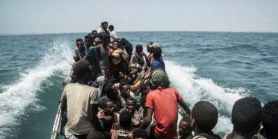 غرق 150 مهاجرًا أفريقيًا قبالة ساحل رأس العارة