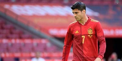 موراتا يقود هجوم إسبانيا أمام السويد
