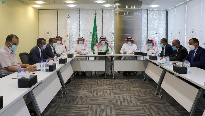 """""""تفاوضي الانتقالي"""" يلتقي نظيره السعودي"""