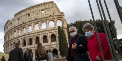 4.25 مليون حالة حصيلة إصابات كورونا في إيطاليا