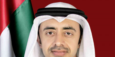 وزير الخارجية الإماراتي يبحث مع نظيره الإسرائيلي التعاون الثنائي