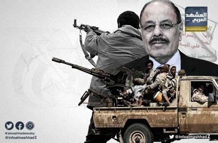 تعزيزات مليشيات الشرعية تتحصن في شقرة وقرن الكلاسي