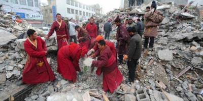 زلزال بقوة 5.8 يضرب مانغيا الصينية