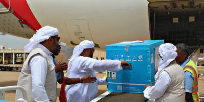 تحصين سقطرى من كورونا.. مواجهة الجائحة ترسخ إنسانية الإمارات