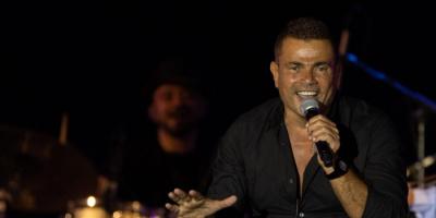 عمرو دياب يتألق في حفله بجدة (صور)