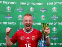 نجم المجر أفضل لاعب أمام فرنسا في يورو 2020