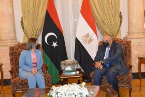 مصر تُطالب بخروج كافة القوات الأجنبية من ليبيا دون مماطلة