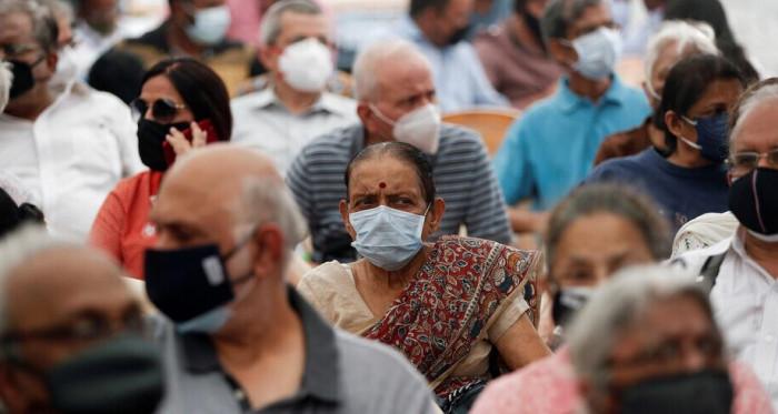 في 3أشهر.. الهند تسجل أقل حصيلة إصابات بكورونا