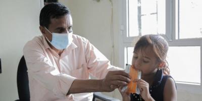 يونيسيف تواصل توزيع العلاج الغذائي في 1400 مرفق