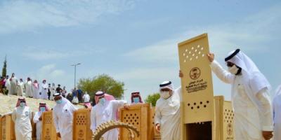 الشرطة السعودية تسترد وعلاً جبليًا من أيدي 3 صيادين