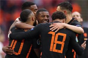 هولندا تفوز على مقدونيا الشمالية بثلاثية نظيفة