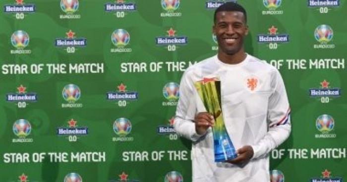 فينالدوم أفضل لاعب في مباراة هولندا ومقدونيا الشمالية