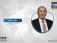 حاتم يحذر من بناء مدن للسكن الدائم لنازحي لحج