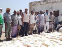 """""""خليفة الإنسانية"""" توزع مساعدات في 560 قرية بسقطرى"""
