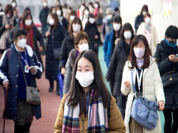 645 إصابة وحالة وفاة بكورونا في كوريا الجنوبية