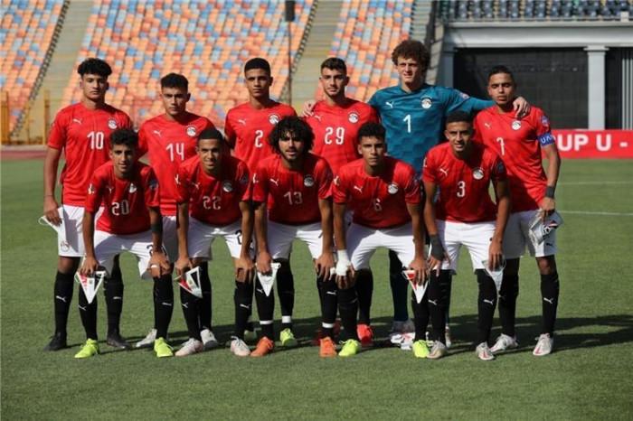 تشكيل مصر أمام الجزائر في كأس العرب للناشئين