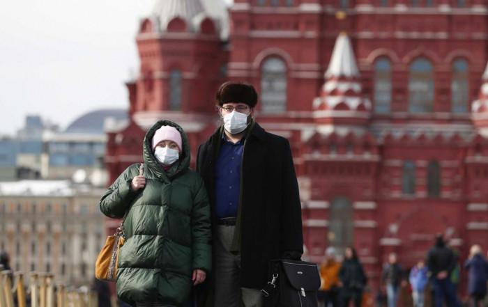 إصابات كورونا في روسيا تتخطى 17 ألف حالة والوفيات 548