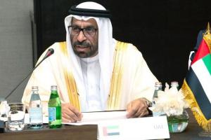 """بمؤتمر """"برلين 2"""".. الإمارات: الحوار السياسي هو الحل للأزمة الليبية"""
