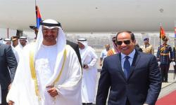 """الشيخ محمد بن زايد يشهد افتتاح قاعدة """"3 يوليو"""" العسكرية بمصر"""