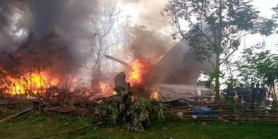تحطّم طائرة عسكرية جنوب الفلبين