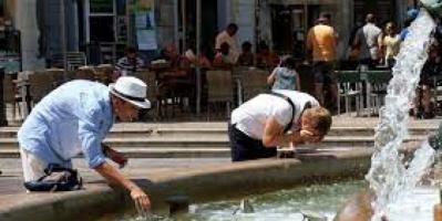إسبانيا تشهد موجة حر شديدة
