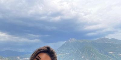 ياسمين صبري تريند بعد صورها في إيطاليا