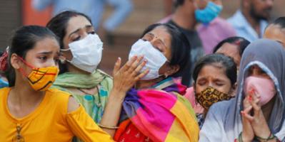 الهند: 624 وفاة و38 ألفا و792 إصابة جديدة بكورونا