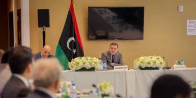 الدبيبة يبحث الملف الليبي مع المجموعة العربية بالأمم المتحدة