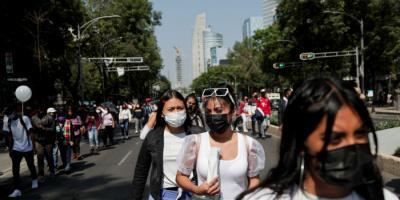 كورونا.. 12631 إصابة جديدة و225 وفاة بالمكسيك