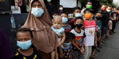 حصيلة قياسية في وفيات كورونا بإندونسيا