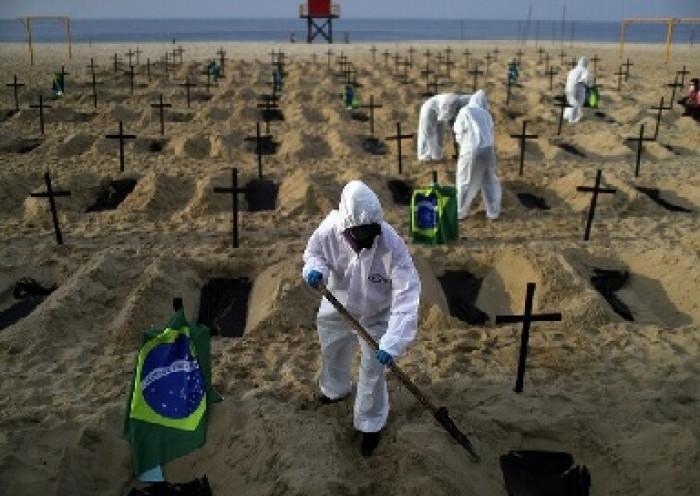 البرازيل.. 542 وفاة و15271 إصابة بكورونا