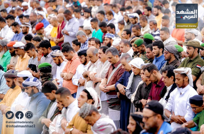 """""""العيد جنوبي"""".. الشعب يؤكد الثقة والانتقالي يجدد العهد"""