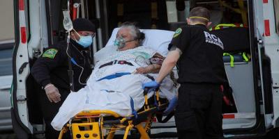 حصيلة إصابات قياسية بكورونا في أمريكا