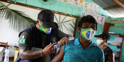 البرازيل: تطعيم 124.9 مليون جرعة من لقاح كورونا حتى اليوم