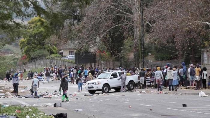 276 قتيلاً.. حصيلة قتلى أعمال العنف بجنوب أفريقيا