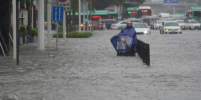 ارتفاع عدد ضحايا الفيضانات في الصين إلى 33 شخصا