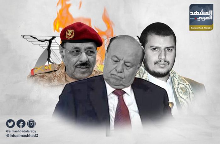 """""""خيانة عظمى"""".. مليشيا الشرعية الإخوانية تسلم شبوة للحوثيين"""