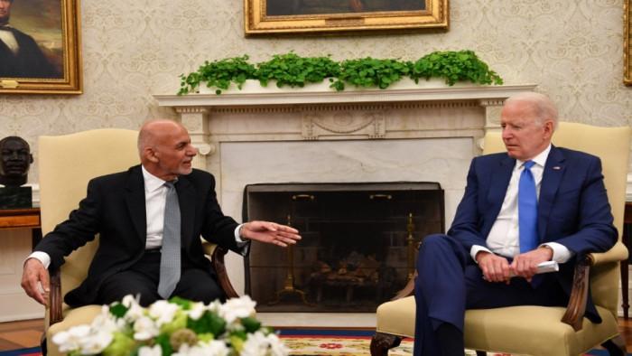 بايدن يؤكد استمرار الدعم الأمريكي لأفغانستان