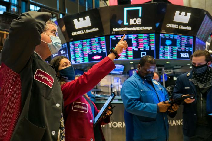 ارتفاع الأسهم الأمريكية وداو جونز يصعد 0.68%