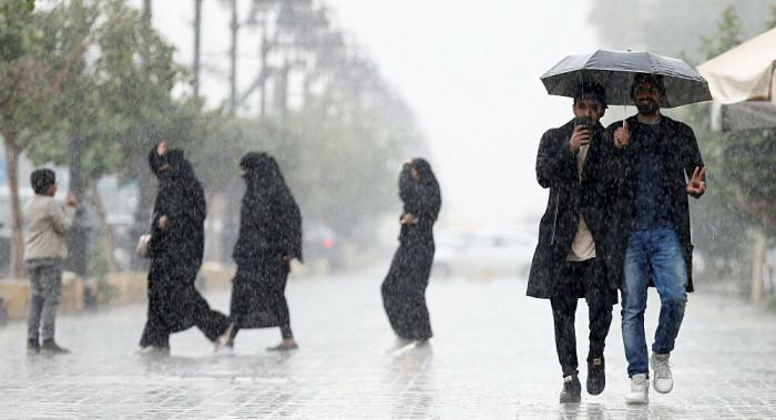 استمرار هطول أمطار رعدية على مدن سعودية