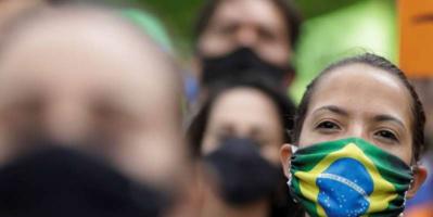 476 وفاة و18129 إصابة بكورونا في البرازيل