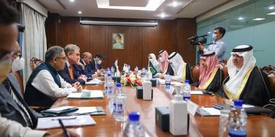 تفاصيل مباحثات وزير الخارجية السعودي مع نظيره الباكستاني
