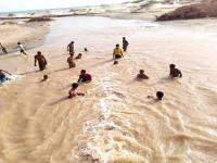 غرق مراهق في مجاري سيول وادي تبن