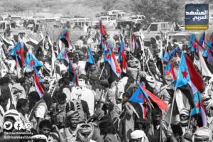 """تظاهرات الجنوب: """"الانتقالي"""" يحمي الحقوق.. و""""الشرعية"""" تمارس الإرهاب"""