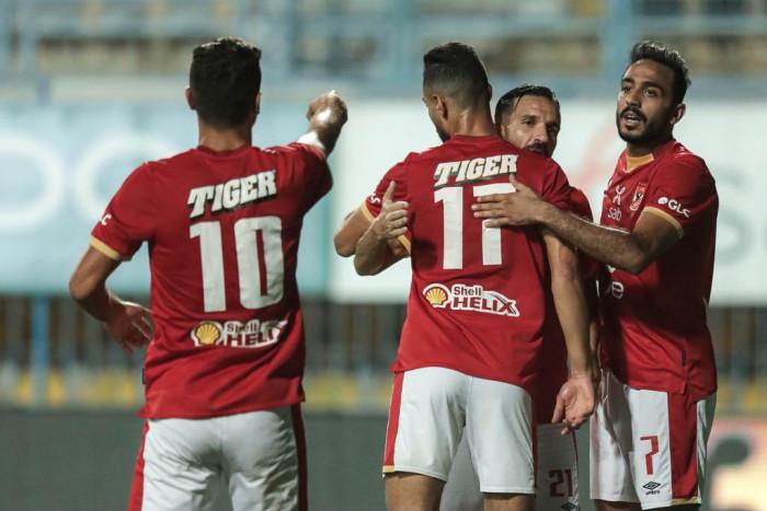 الأهلي يفوز على أسوان في الدوري المصري